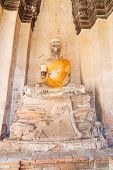 Buddha Statue In Ayuthaya