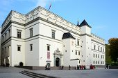 Palace Of The Grand Dukes Of Lithuania In Vilnius City