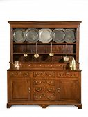Old Oak Kitchen Dresser Antique English