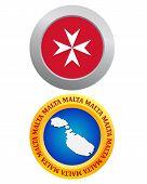 Button As A Symbol Malta