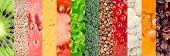 picture of vegetable food fruit  - Healthy food background - JPG