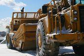 Heavy Equipment Construction Wintertime