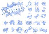 Sketched Webicons