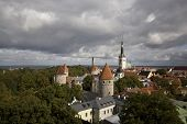 The Medieval Town Of Tallinn, Estonia poster