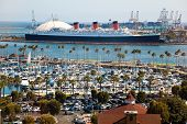 LONG BEACH, USA - JULY 30: Thousands of cars and boats come to the Crawfish Festival on July 30, 201