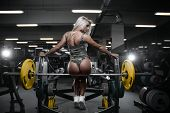 Sexy Athletic Young Woman Ass poster