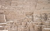 Details Of A Inca Ruin Texture Background, Lima, Peru poster
