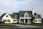 White Residential House