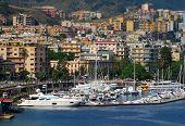 Coastal View Of Messina, Italy