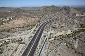 stock photo of piestewa  - Dreamy Draw and State Route 51 in Phoenix - JPG
