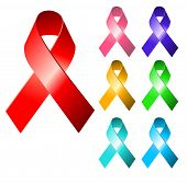 image of leukemia  - Awareness ribbons - JPG