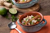 Spicy Chicken Tortilla Soup poster