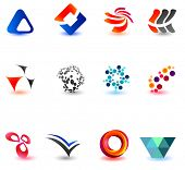 Set of different icons for your design (part 14). Please visit my gallery to see similar.