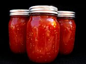 Canned organic tomato red sauce, 3 big jars