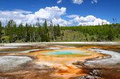 Chromatic Pool Of Yellowstone