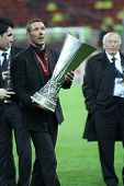 Diego Simeone and the trophy