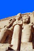 image of ramses  - Abu Simbel Temple of King Ramses II - JPG