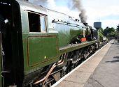 Steam Train In Station