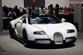GENEVA - MARCH 8: The Bugatti GT on display at the 81st International Motor Show Palexpo-Geneva on M