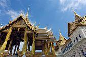 Bangkok luxurious royal palace at wat phra kaeo temple, Thailand