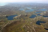 Greenland Seen From Above Flight From Kangerlussuaq To Ilulissat