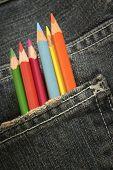Pencils In A Pocket 03