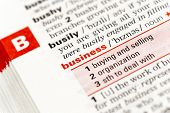 image of glossary  - B For Business - JPG