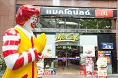 BANGKOK - MARCH 15: of McDonald's storefront in the centre of the capital on March 15, 2012 in Bangk