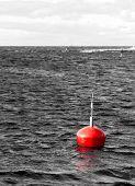 Red Marine Buoy