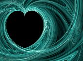 Turquoise Heart