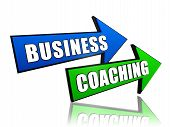 Business Coaching em setas