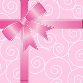 Big Pink Ribbon Bow