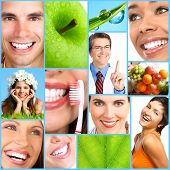 foto of dentist  - People health diet healthy nutrition food fruits dental care teeth dentist medical doctor - JPG