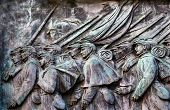 Union Soldiers Charging Us Grant Statue Memorial Capitol Hill Washington Dc