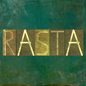 picture of rastafari  - Earthy background image and design element depicting the word  - JPG