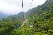 foto of gents  - Nice view from Genting Highland Cable Car - JPG