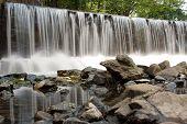 Damn waterfall