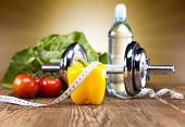 Healthy lifestyle concept, Diet and fitness