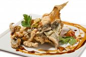 picture of flounder  - Fried flounder in the Eastern - JPG