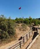 Army Trenches At Anzac Cove Gallipoli