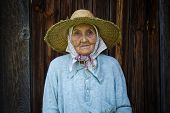 Very Old Woman From The Village