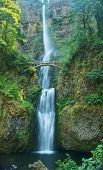 Multinomah Falls In The Columbia Gorge State Park, Oregon