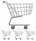 Shopping cart.