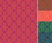Seamless Wallpaper Pattern (vector)