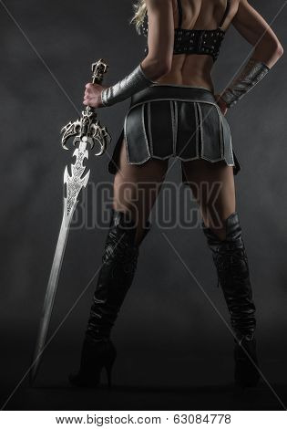 Woman And Sword poster