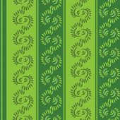 vector seamless green pattern