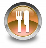 Icon, Button, Pictogram -eatery, Restaurant-