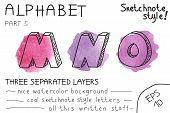 Colorful alphabet - Part 5