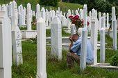 Cemetery In Sarajevo, Bosnia And Herzegovina