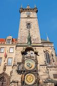 Astronomical Clock (orloj) In The Old Town Of Prague.